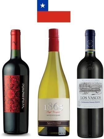 Pack Especial Vinos de Chile