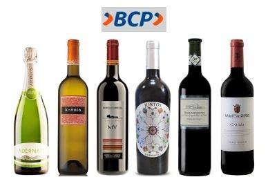 Pack especial Caudalia BCP de 6 vinos españoles