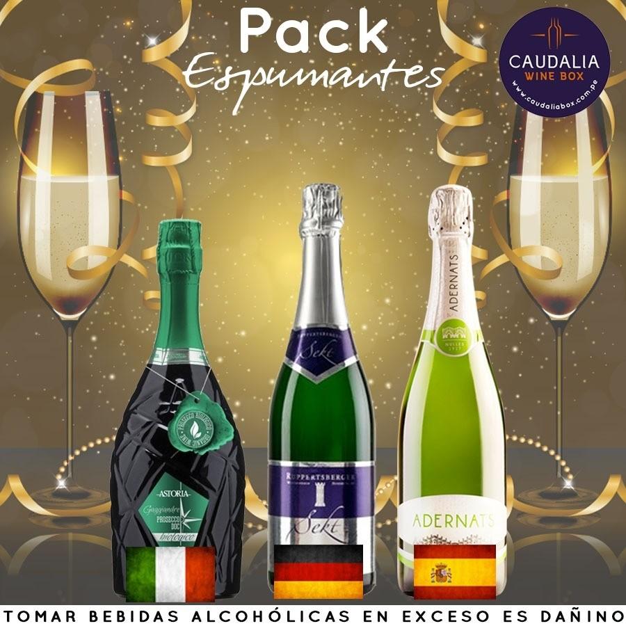 Pack espumantes 2019