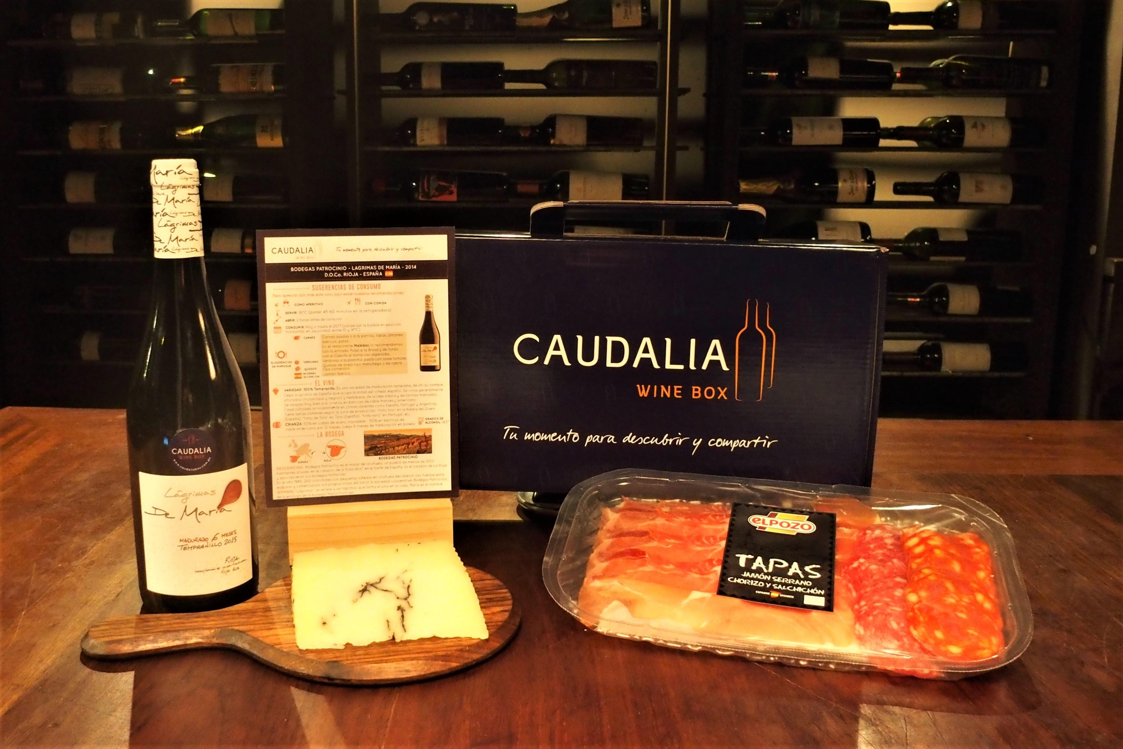 Caudalia Wine Box Gourmet España