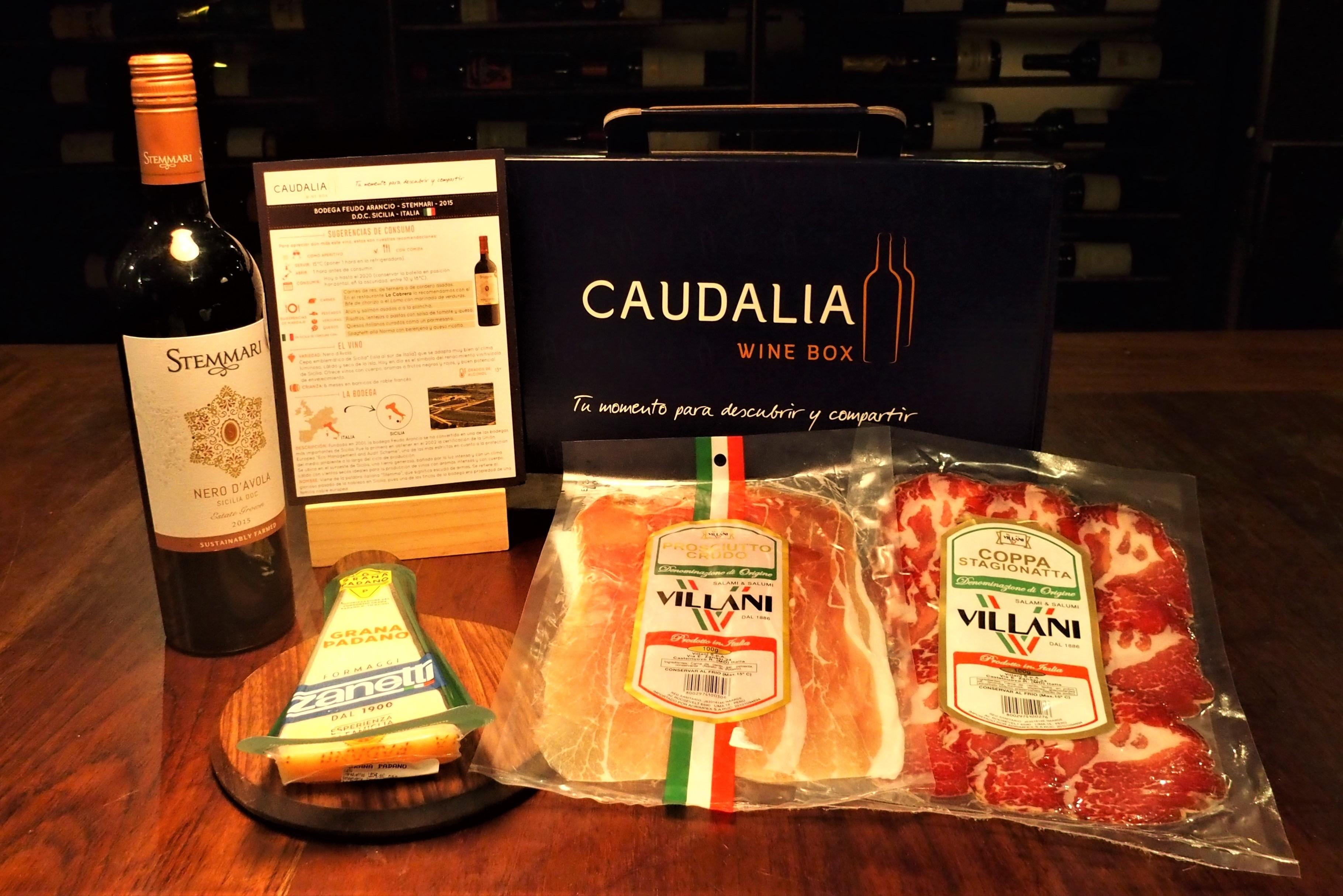 Caudalia Wine Box Gourmet Italia