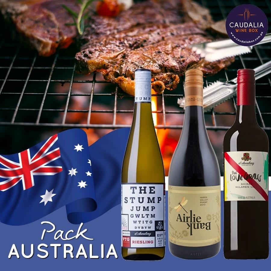 Pack vinos de Australia