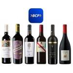 Pack especial BCP 6 vinos premium