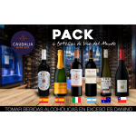 Pack especial de 6 vinos del mundo
