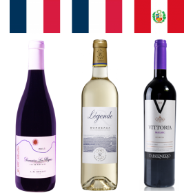 Pack mundialista Perú vs Francia