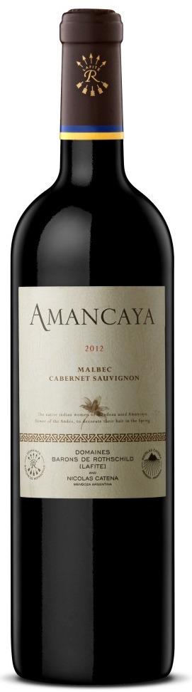 Bodegas Caro- Amancaya - Malbec y Cabernet Sauvignon 2012 Mendoza Argentina Caudalia Wine Box Mayo 2016