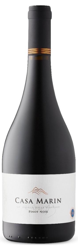 Caudalia wine Box agosto 2020 Pinot Noir Chile