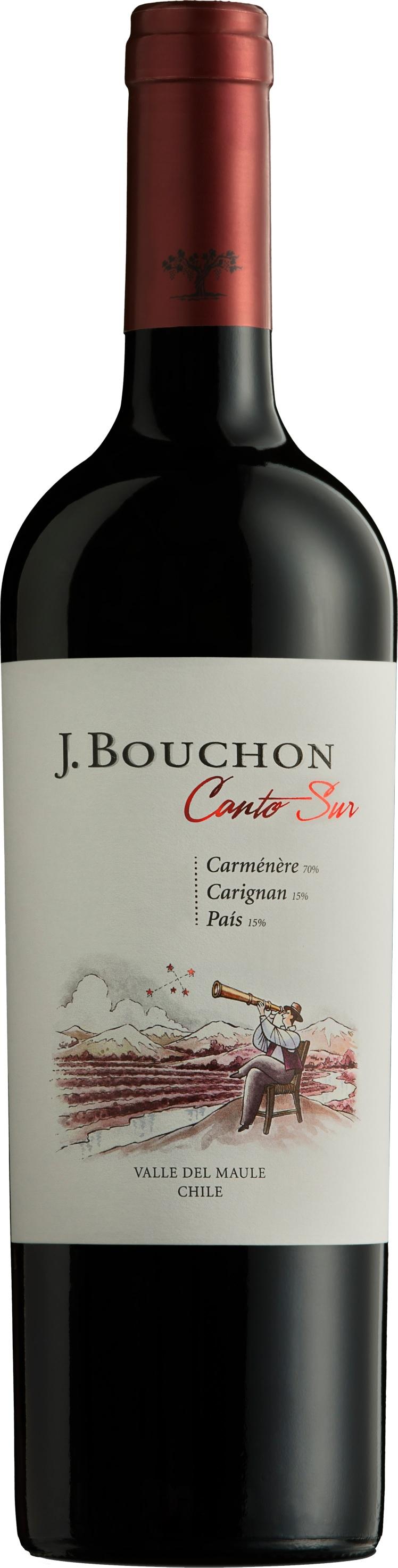 Caudalia wine Box Septiembre 2021 Chile Bouchon - Canto Sur - Maule - Chile - 2018
