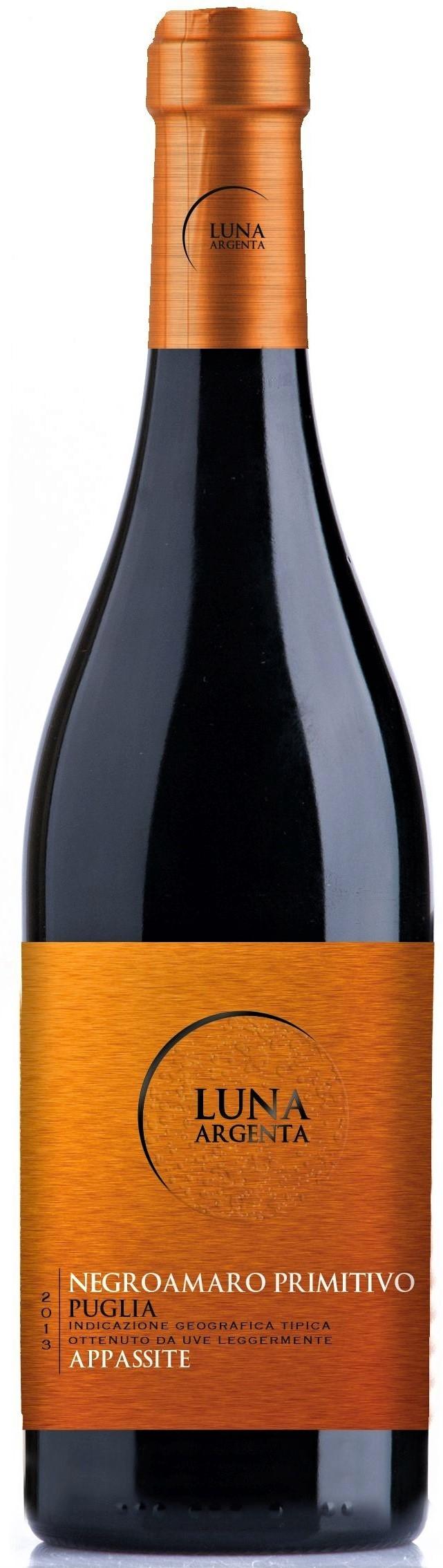 Caudalia wine Box Enero 2021 Luna Argenta - Negro Amaro, Primitivo - Italia - 2019