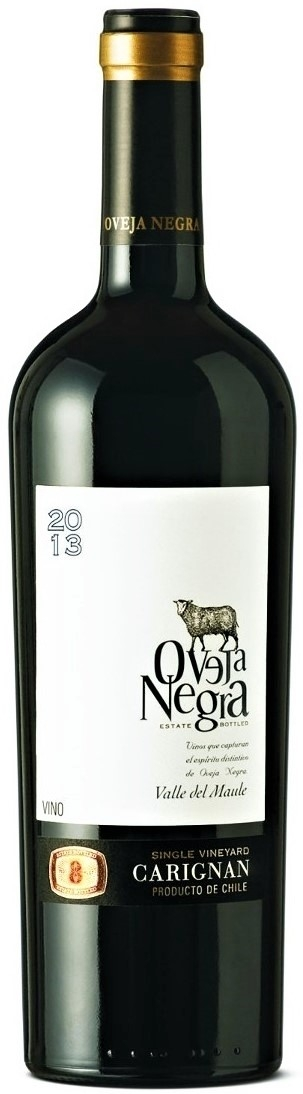 Caudalia wine Box marzo 2020 Via Wines - Oveja Negra - Carignan - Single Vineyard - 2013 Chile