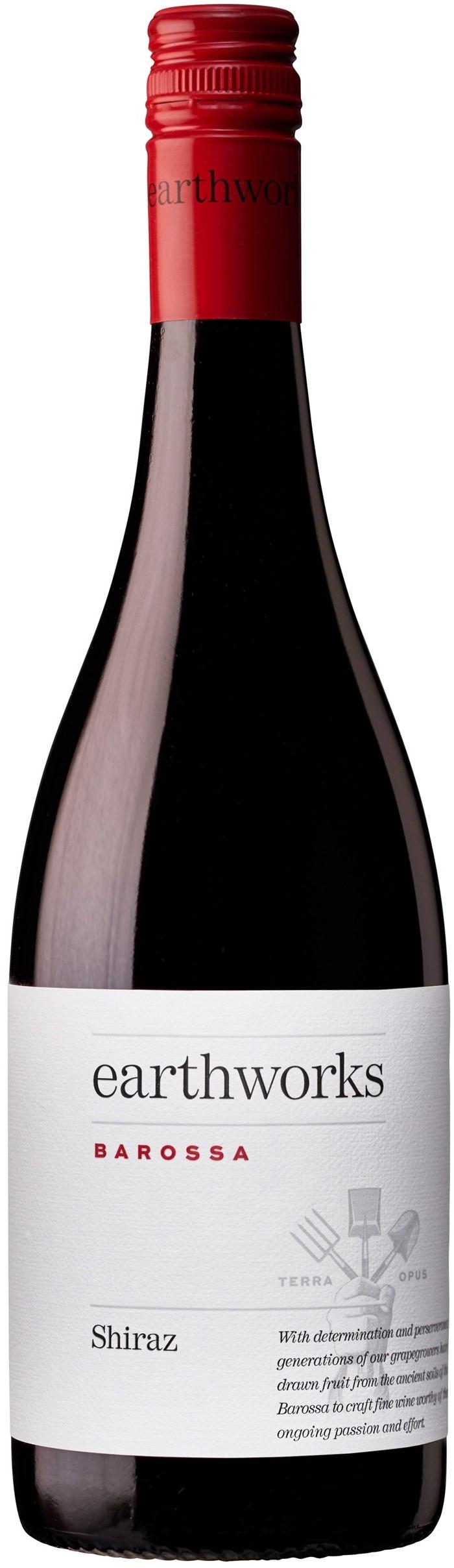 Caudalia wine Box Febrero 2020 Shiraz Australia Earthworks