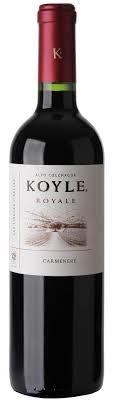 Caudalia wine Box Noviembre 2020 Carmenere Chile Koyle