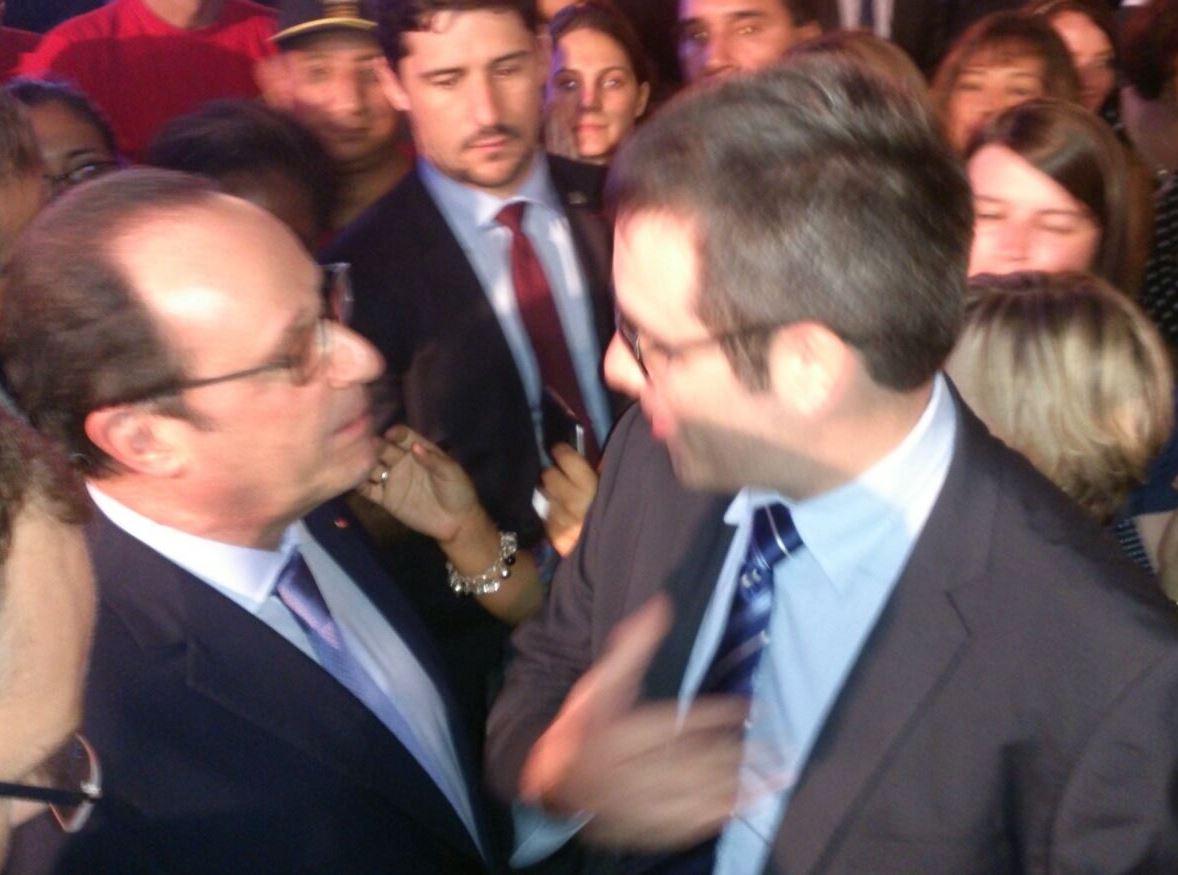 Caudalia Wine Box y el presidente Hollande 3
