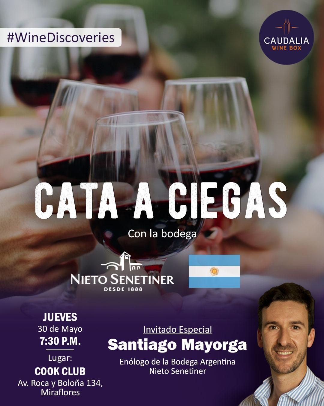 Caudalia Wine Discoveries mayo 2019 Bodega Nieto Senetiner