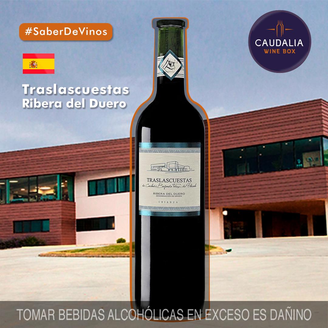 Caudalia wine Box Octubre 2019 España Traslascuestas